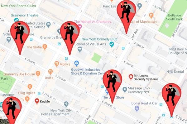 گوگل مپ محلی برای عرضه اندام کلاهبرداران