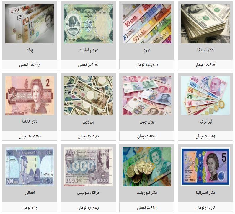 کاهش نرخ تمامی ارزها/ دلار به زیر ۱۳ هزار تومان رسید