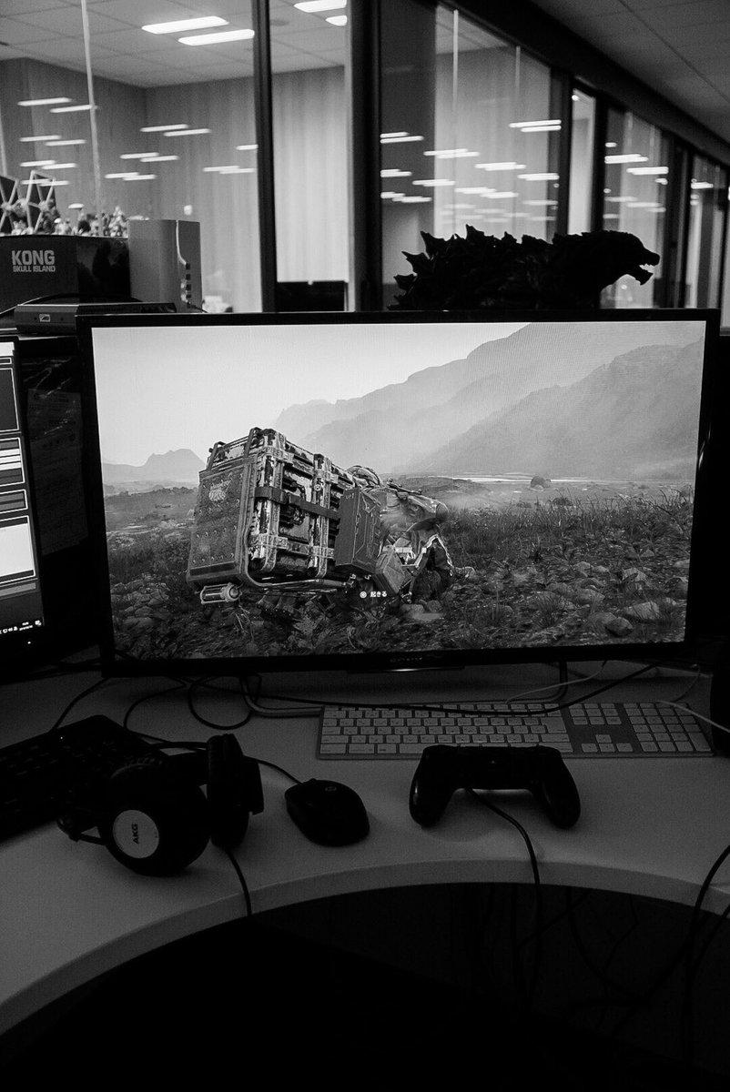 بازی Death Stranding طراحی کاملا جدیدی دارد + عکس