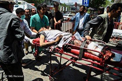 انفجارهای پی در پی در کابل
