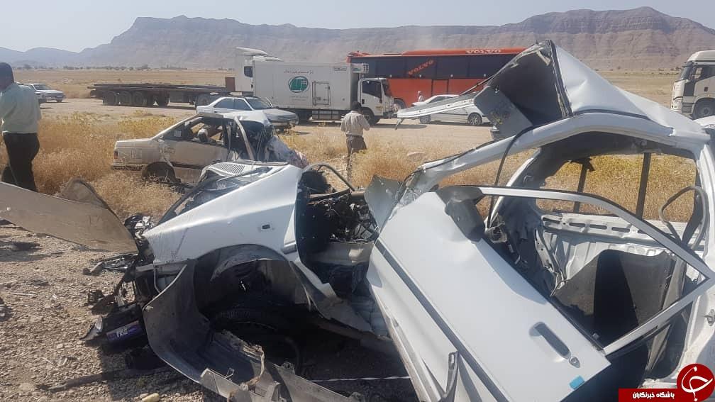 ۱۱ کشته و زخمی در محور لار – جهرم