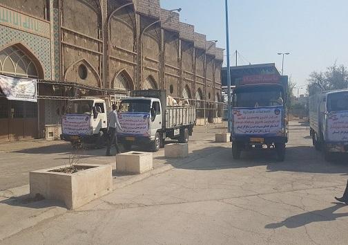 حمایت مردم لبنان از سیل زدگان خوزستان