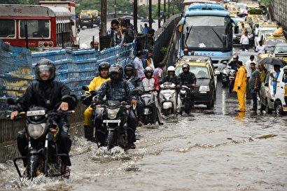 بارش شدید باران در هند