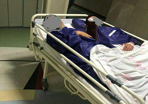 توضیح دانشگاه علوم پزشکی درباره عکس ۲ بیمار بر روی یک تخت / عکس صحت دارد