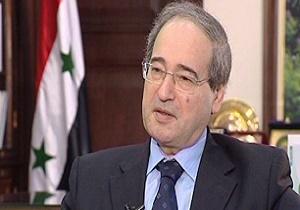 فیصل المقداد: روابط سوریه و ایران، قوی و راهبردی است
