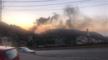 ۱۲ زخمی بر اثر انفجار یک پمپ گاز در شمال لبنان + تصاویر