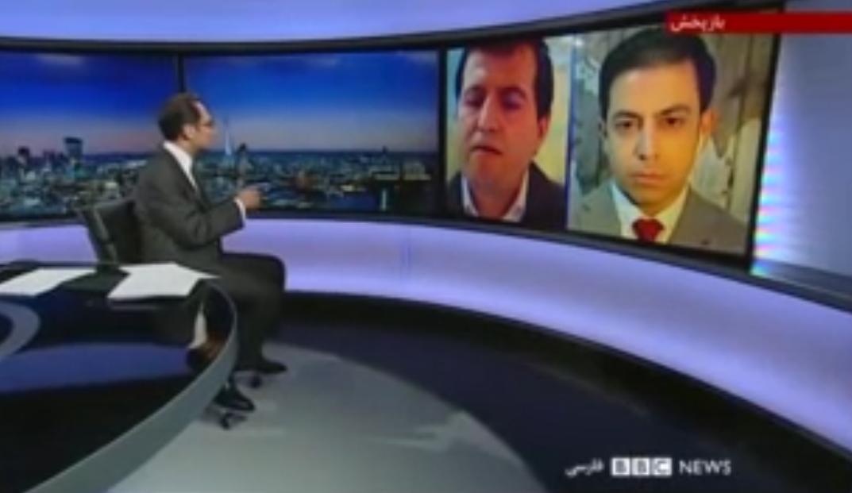 پاسخ کوبنده خبرنگار ساکن آلمان به شبهه افکنی مجری بی بی سی! +فیلم