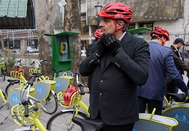 گره کور ترافیک پایتخت با دوچرخه سواری حل شدنی نیست/ افزایش سهم دوچرخه در حمل و نقل تهرانیها تا ۱۴۰۰