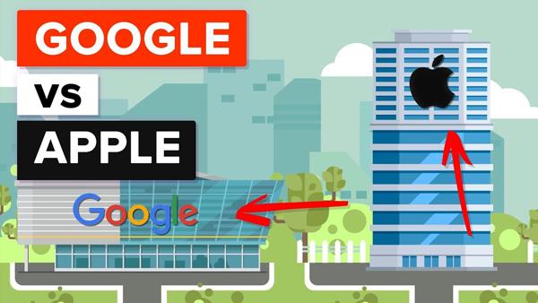 شکست خوردن گوگل از اپل در زمینه درآمد اپلیکیشن