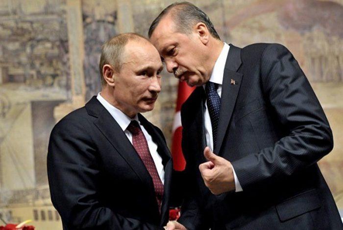 ابراز نگرانی پوتین و اردوغان از افزایش تنشها در لیبی