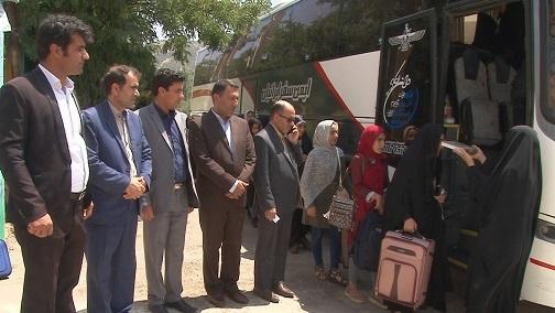 اعزام دانش آموزان روستایی و عشایر به اردوی علوی