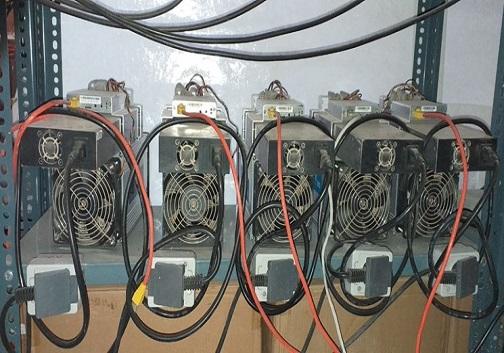 کشف ۱۲۶ دستگاه استخراج ارز دیجیتال (بیت کوین) در کرمانشاه