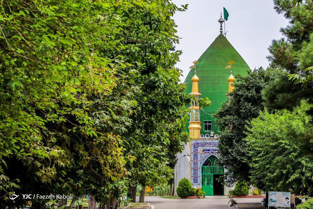 امامزاده سلیمان در روستای هاشم آباد شهر گرگان