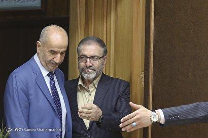 دیدار معاون وزیر کشور عراق با وزیر کشور