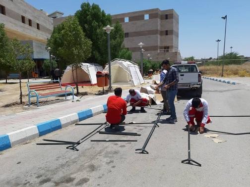 زلزله ۵.۷ ریشتری استان خوزستان را لرزاند/ ۵۲ نفر کشته و مجروح شدند/ بیمارستان نفت مسجدسلیمان تخلیه شد +فیلم و تصاویر