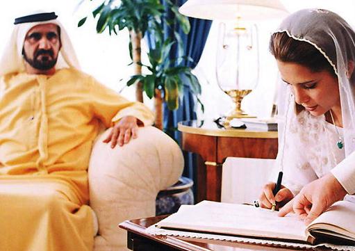 پرنسس هیا» همسر فراری حاکم دبی