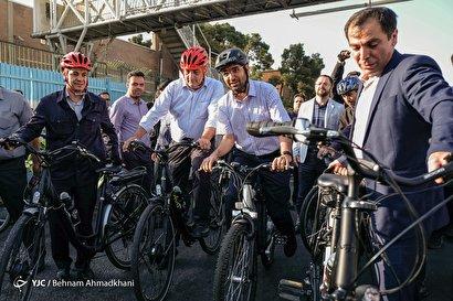 افتتاح ۱۰ ایستگاه دوچرخه در پایتخت