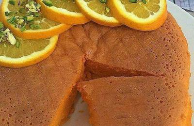 کیک ژله ای پرتقالی عصرانه ای خوشمزه + طرز تهیه