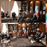 باشگاه خبرنگاران -دیدار با هماهنگ کننده ویژه سازمان ملل متحد در امور لبنان با ظریف