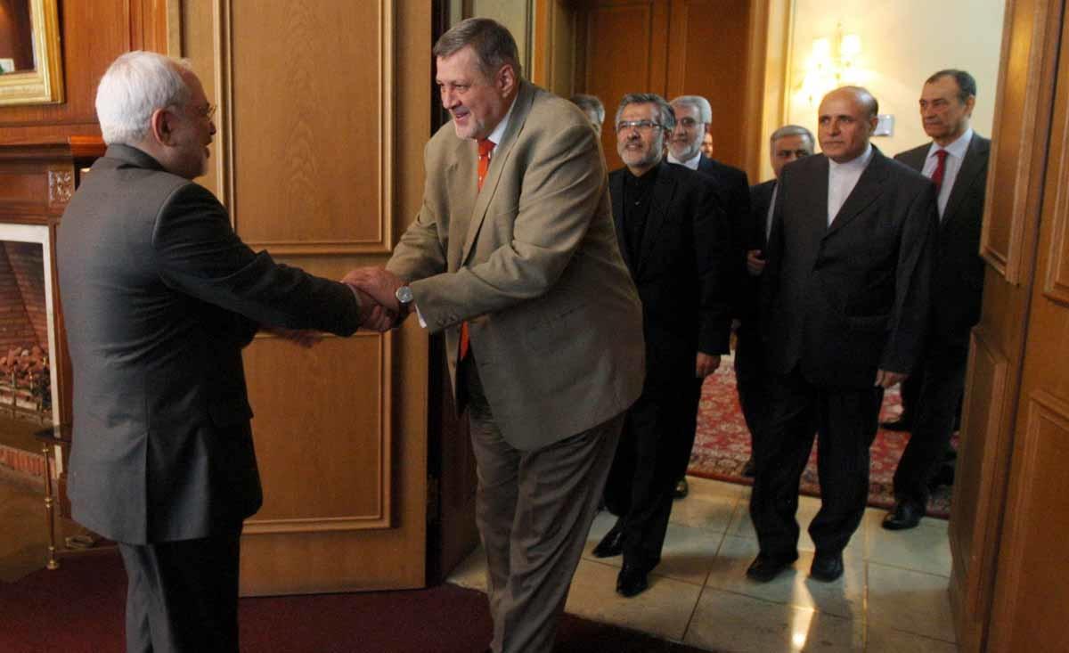 هماهنگ کننده ویژه سازمان ملل متحد در امور لبنان با ظریف دیدار کرد
