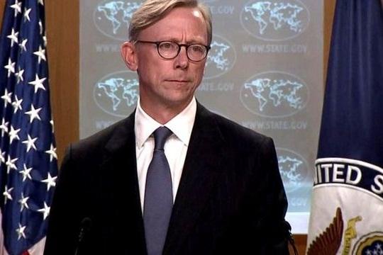 برایانهوک: هیچ کانال ارتباطی پنهانی برای مذاکره با ایران وجود ندارد