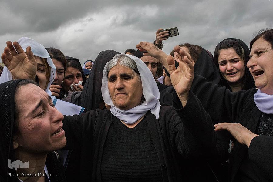 بازگشت زنان ایزدی به سنجار +تصاویر