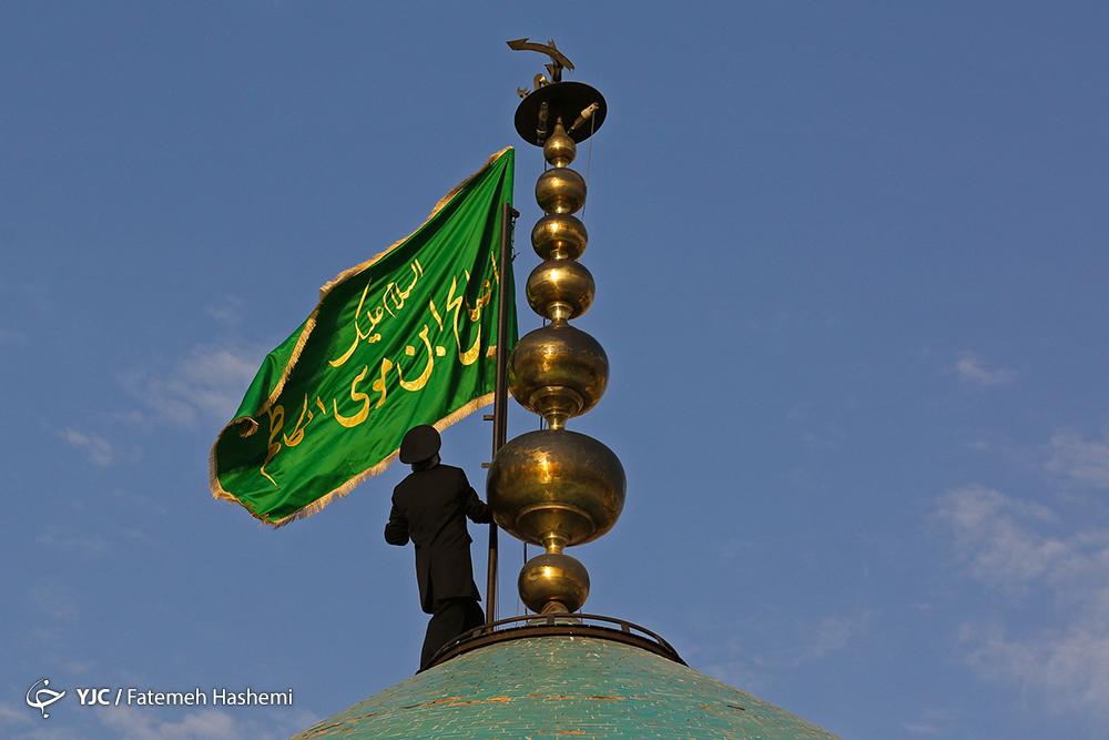 تجمع دختران محجبه در امامزاده صالح (ع)