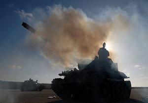 حمله هوایی نیروهای خلیفه حفتر به شهر غریان لیبی