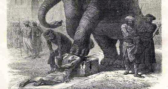 وحشیانهترین روشهای اعدام در طول تاریخ