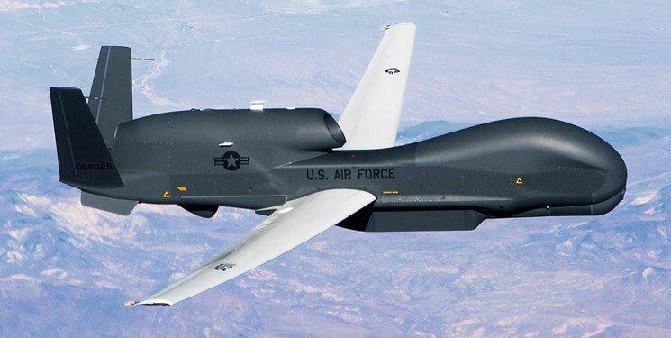 چند کیلومتر از حریم هوایی ایران مورد تجاوز پهباد جاسوسی آمریکا قرار گرفت؟ + تصاویر
