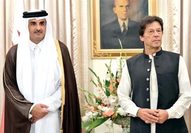 هدایای جالبی که امیر قطر و نخستوزیر پاکستان به هم دادند +عکس