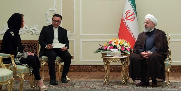 رویکرد همیشگی جمهوری اسلامی کاهش تنش و توسعه صلح در جهان است