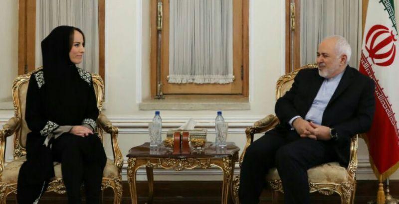 رئیس اتحادیه جهانی بین المجالس با وزیر امور خارجه دیدار کرد.