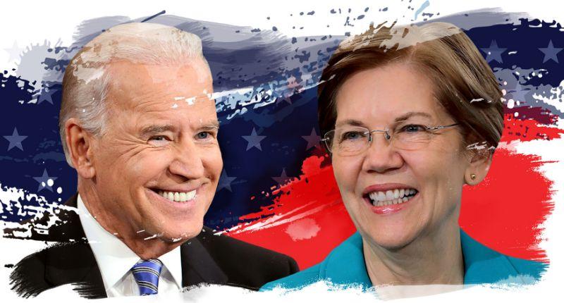 نظرسنجی: فاصله ۵ امتیازی بایدن با نامزد دموکرات زن