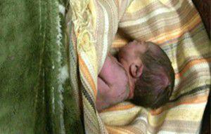 کودک رها شده در غرب پایتخت به بهزیستی تحویل داده شد