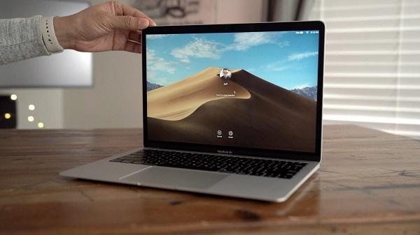 حذف سرور امنیتی وبکم مکبوک اپل