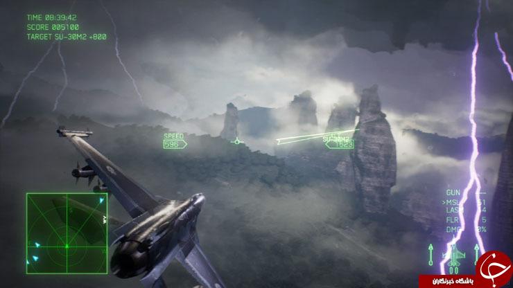 بررسی ace combat ۷:skies unknown