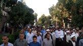 راهپیمایی مدافعان حریم خانواده و حجاب در اراک+ مفاد بیانیه