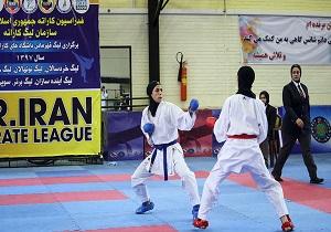 قهرمانی آذربایجان شرقی در مسابقات کاراته بانوان کشورسبک شیدوکان درمراغه