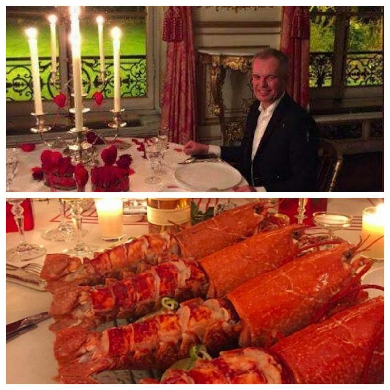 ناهار اشرافی کار دست وزیر فرانسوی داد!