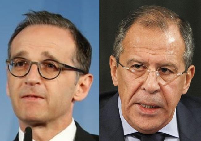 گفتوگوی وزرای خارجه آلمان و روسیه درباره ایران و سوریه
