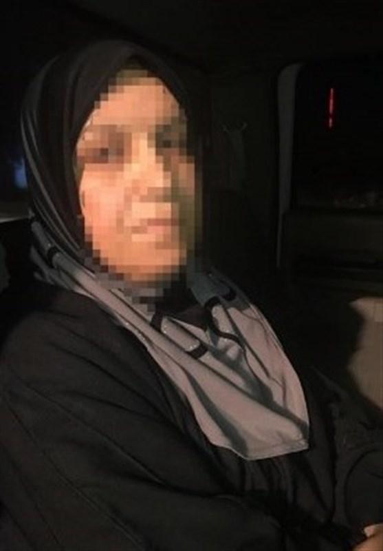 بازداشت مادر تروریستهای داعشی در موصل + عکس