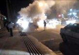 باشگاه خبرنگاران -فیلمی از آتشسوزی پراید در «خیرآباد»