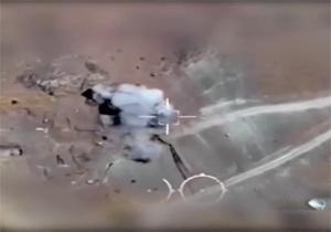 هلاکت شمار زیادی از تروریستها در مرز کردستان عراق و ایران توسط سپاه پاسداران + فیلم
