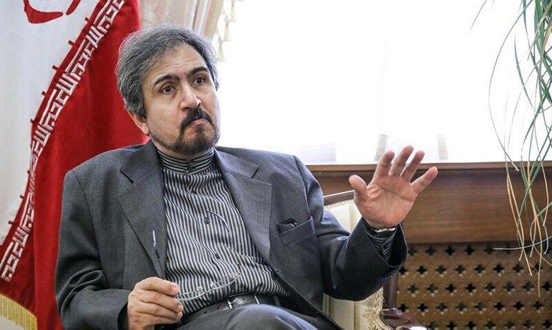 قاسمی: اولویت ایران خویشتنداری برای کاهش تنشهای بیشتر است