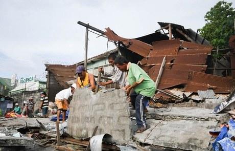 ۵۱ زخمی در زمینلرزه فیلیپین