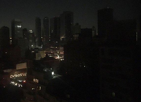باشگاه خبرنگاران -نیویورک خاموش شد! + تصاویر