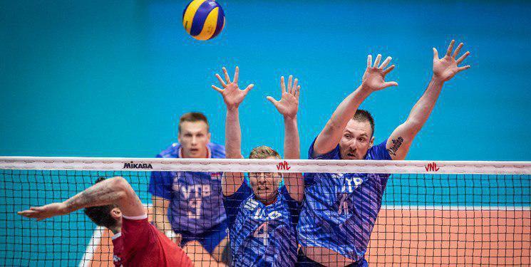 لیگ ملتهای والیبال ۲۰۱۹/ آمریکا و روسیه فینالیست شدند