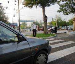 طرح ساماندهی تردد در گذرگاههای عابر پیاده شهر رشت