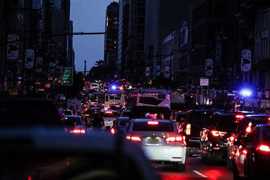 نیویورک خاموش شد!